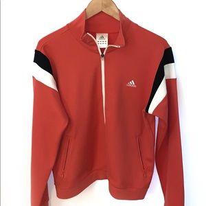 Adidas women's full zip up jacket size Large